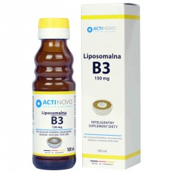 Liposomalna witamina B3 Niacyna - sklep internetowy - 100 ml