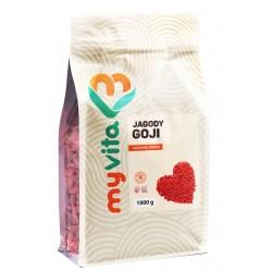 Jagody goji Myvita 1000g - sklep internetowy