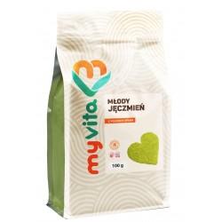 Młody jęczmień proszek Myvita - sklep internetowy - 100g