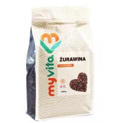 Żurawina naturalna suszona Myvita - sklep internetowy - 1000g