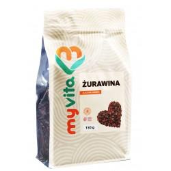 Żurawina naturalna suszona Myvita - sklep internetowy - 150g
