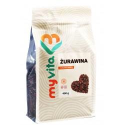 Żurawina naturalna suszona Myvita - sklep internetowy - 400g