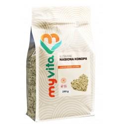Nasiona konopi łuskane Myvita - sklep internetowy - 250g