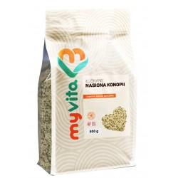 Nasiona konopi łuskane Myvita - sklep internetowy - 500g