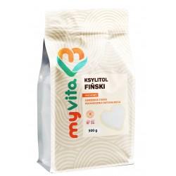 Ksylitol MyVita - sklep internetowy - Xylitol cukier z brzozy - 500g