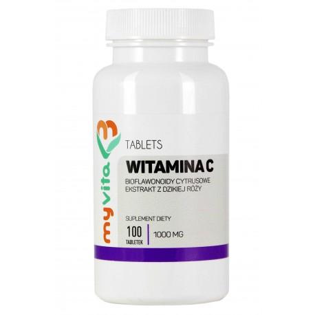 Witamina C Myvita - sklep internetowy - 100 tabletek