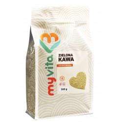 Kawa zielona mielona Myvita - sklep internetowy - 500g