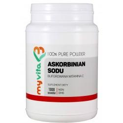 Askorbinian sodu (Buforowana Witamina C) MyVita proszek - sklep internetowy - 1000 g
