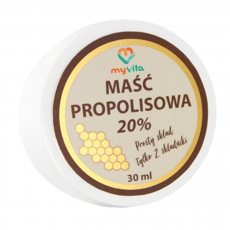 Maść propolisowa 20% MyVita 30ml