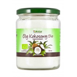 Olej kokosowy nierafinoway BIO Myvita - sklep internetowy - 500ml