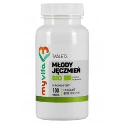 Młody jęczmień BIO tabletki Myvita - sklep internetowy - 100 tabletek