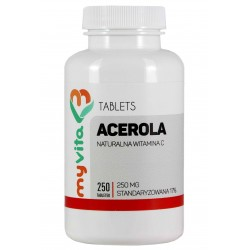 Acerola MyVita - sklep internetowy - 250 tabletek