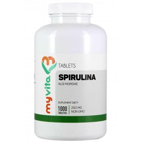 Spirulina tabletki - 1000 tabletek