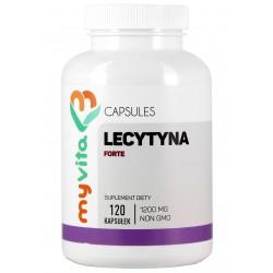 Lecytyna Non GMO Myvita - sklep internetowy - 120 kapsułek