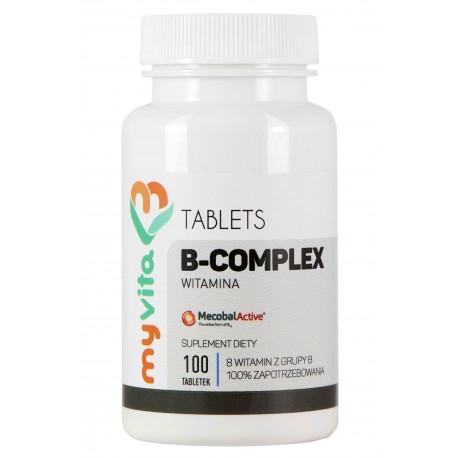 Witamina B-Complex MyVita - sklep internetowy - 100 tabletek
