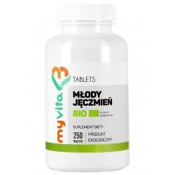 Młody jęczmień BIO tabletki - 250 tabletek