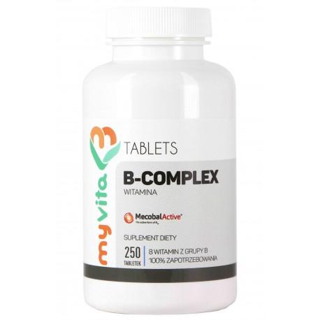 Witamina B-Complex MyVita - sklep internetowy - 250 tabletek