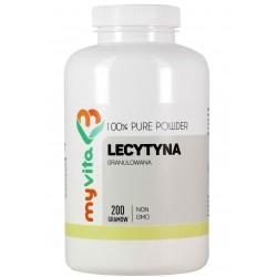 Lecytyna Non GMO Myvita - sklep internetowy - granulowana 200g