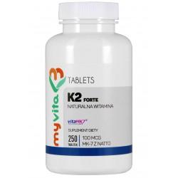 Witamina K2 MK-7 MyVita  - sklep internetowy - 250 tabletek